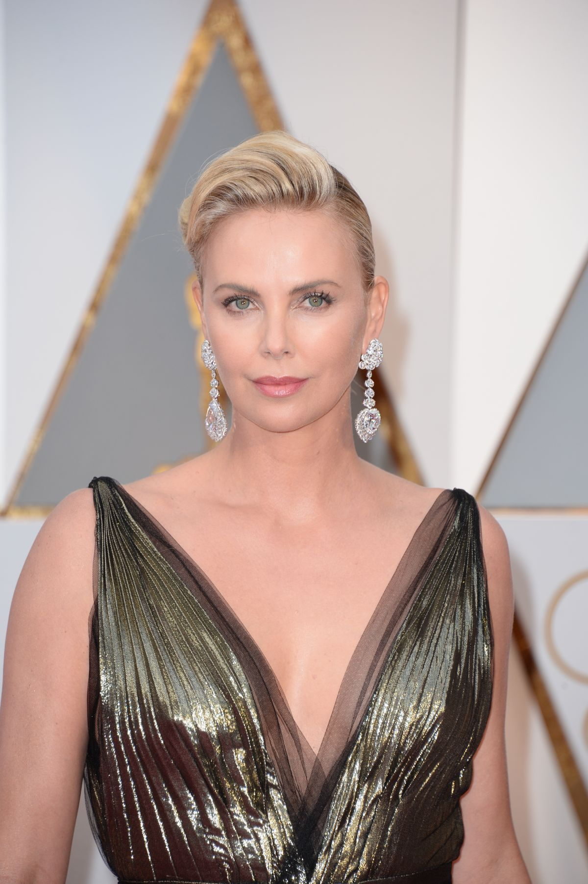 Charlize Theron At 89th Annual Academy Awards in Hollywood ... Charlize Theron