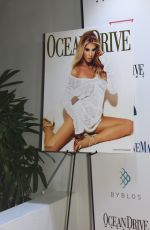 Charlotte McKinney At Ocean Drive Magazine Celebration Party in Miami