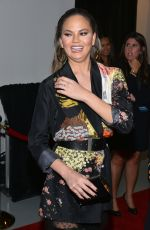 Chrissy Teigen At Sports Illustrated Swimsuit Edition launch event in NYC