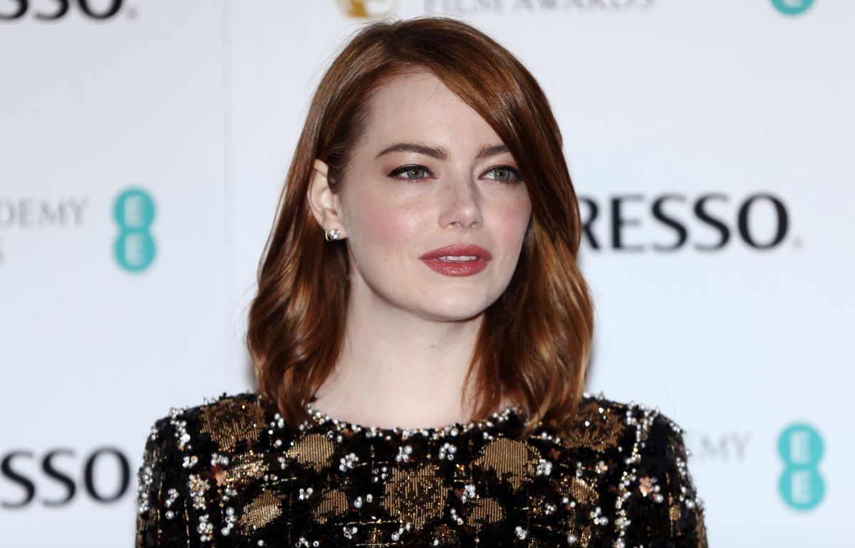Emma Stone At British Academy Film Awards Nominees Party ... Emma Stone Maniac