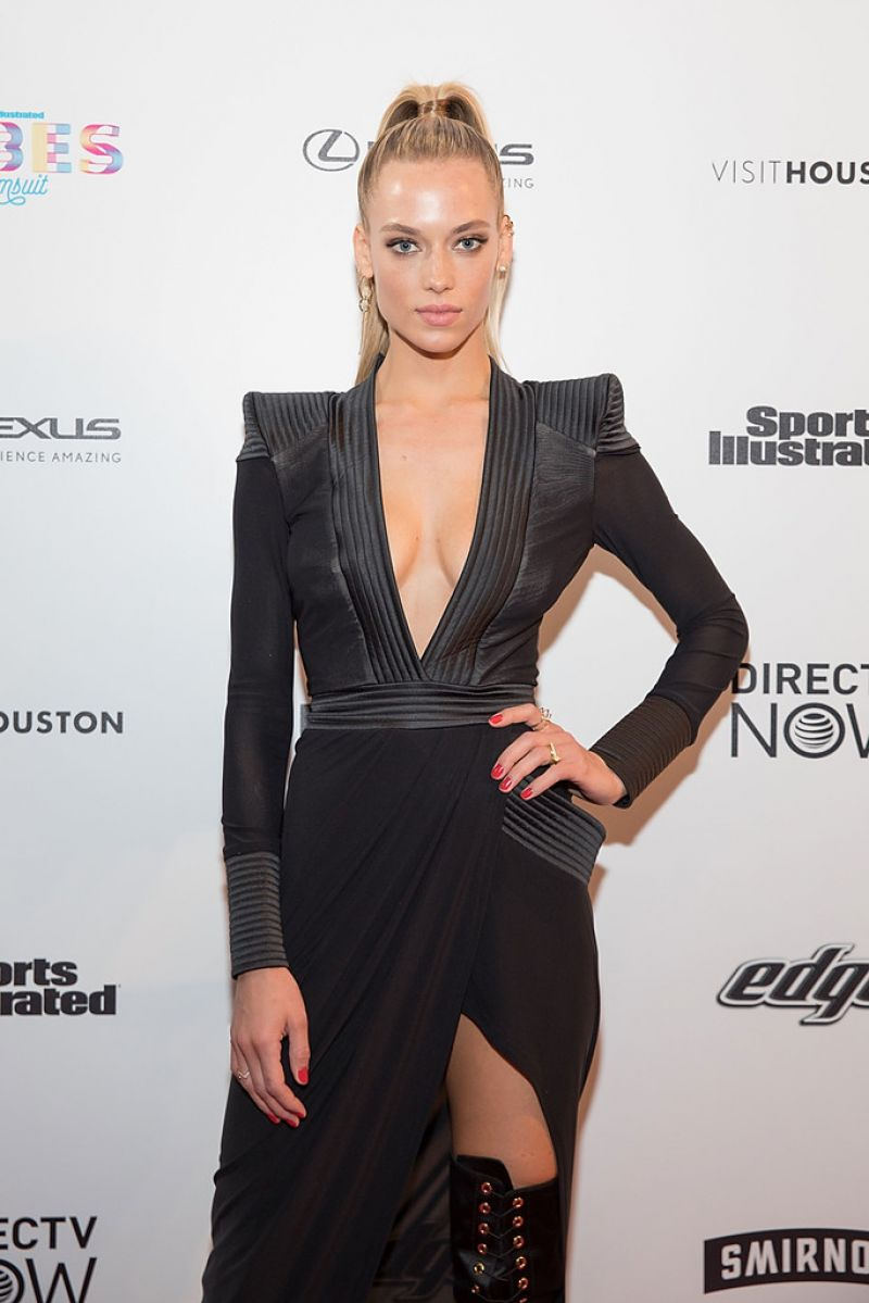 Hannah Ferguson At VIBES By SI Swimsuit 2017 Launch Festival in Houston