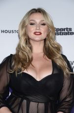 Hunter McGrady At Sports Illustrated Swimsuit Issue Launch Event In NYC