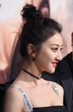 Jing Tian At premiere of Universal Pictures