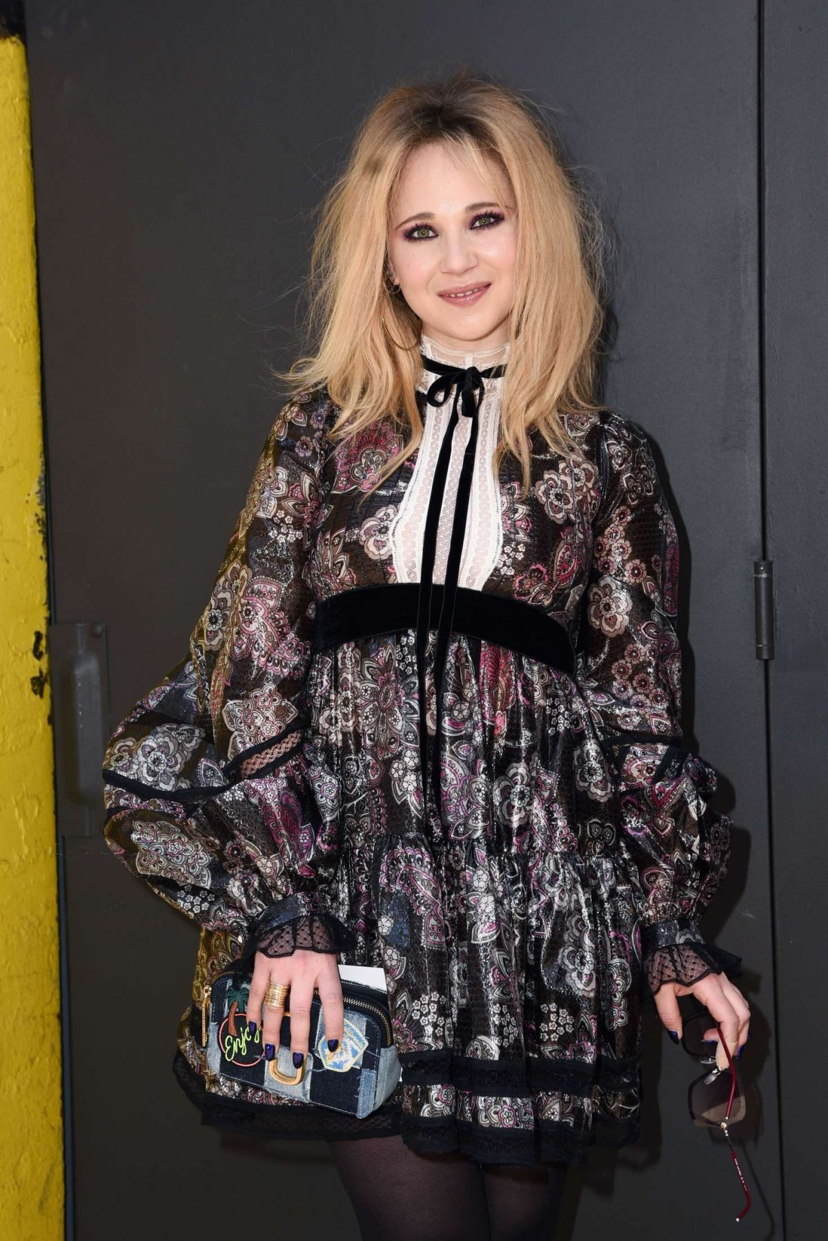 Juno Temple At Marc Jacobs Show in NYC