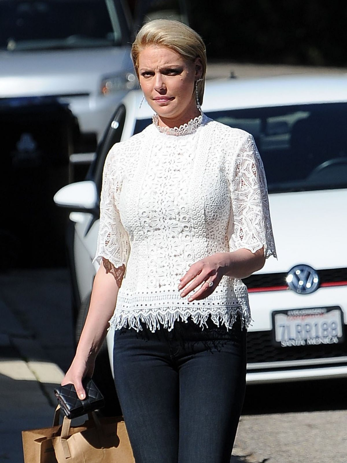 Katherine Heigl Shopping in Los Feliz - Celebzz Katherine Heigl