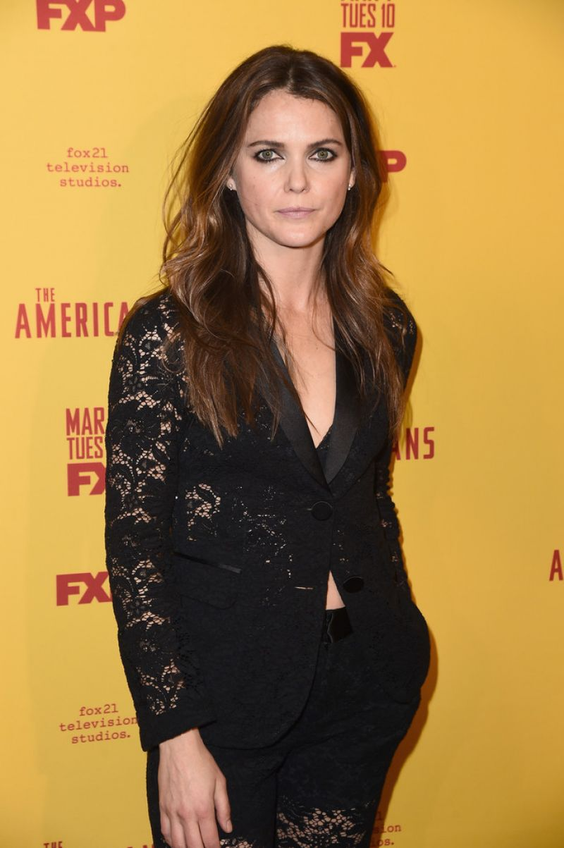 """Keri Russell At """"The Americans"""" season 5 premiere in NYC"""