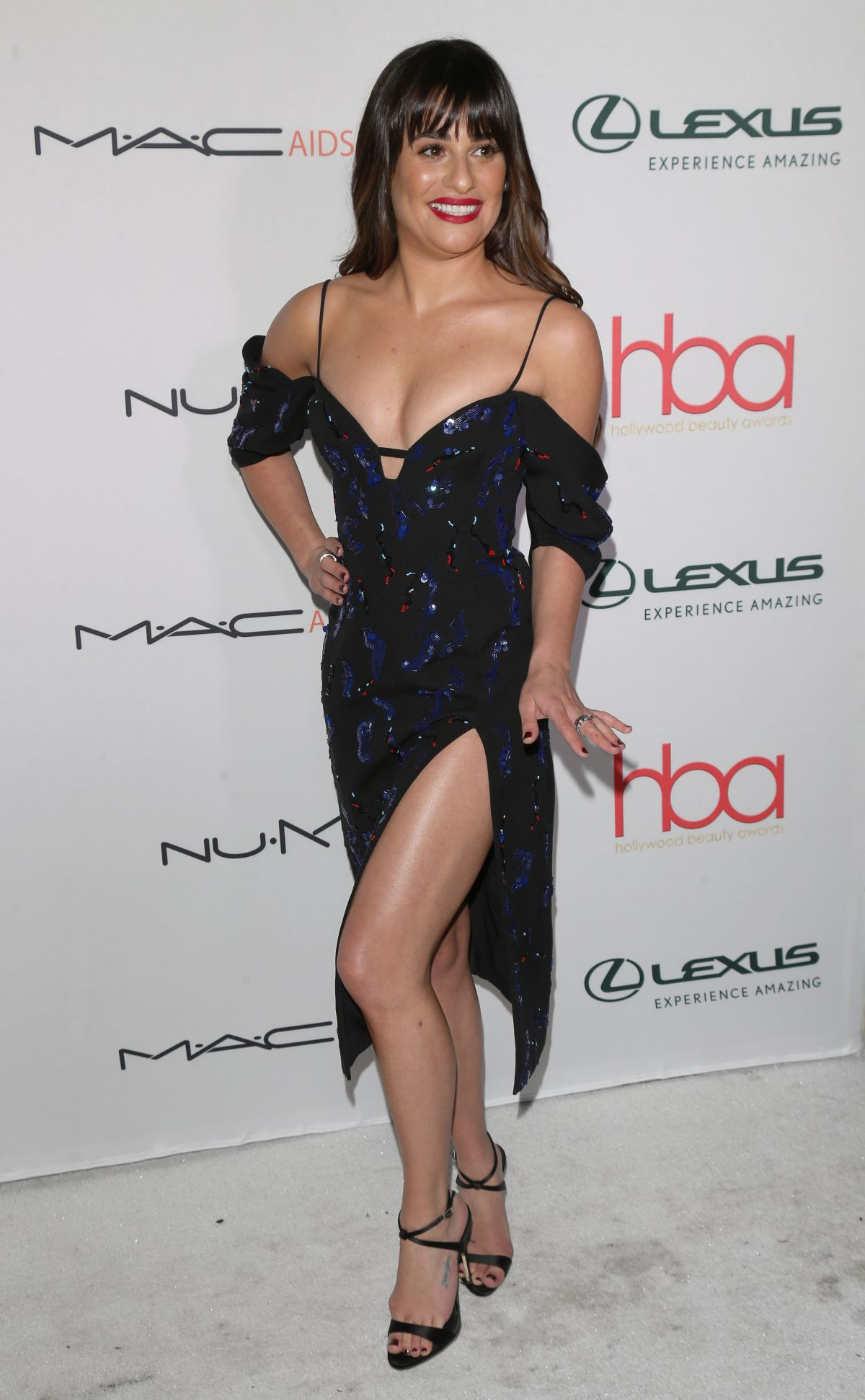 Lea Michele At 3rd Annual Hollywood Beauty Awards in Los Angeles