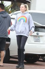 Miley Cyrus Out and About in Malibu