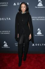 Mya Harrison Attends Delta Air Lines official Grammy event in LA