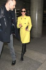 Nina Dobrev Arriving at LAX