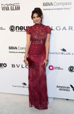 Noureen DeWulf At 25th Annual Elton John AIDS Foundation