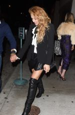Paulina Rubio Out for the evening in LA