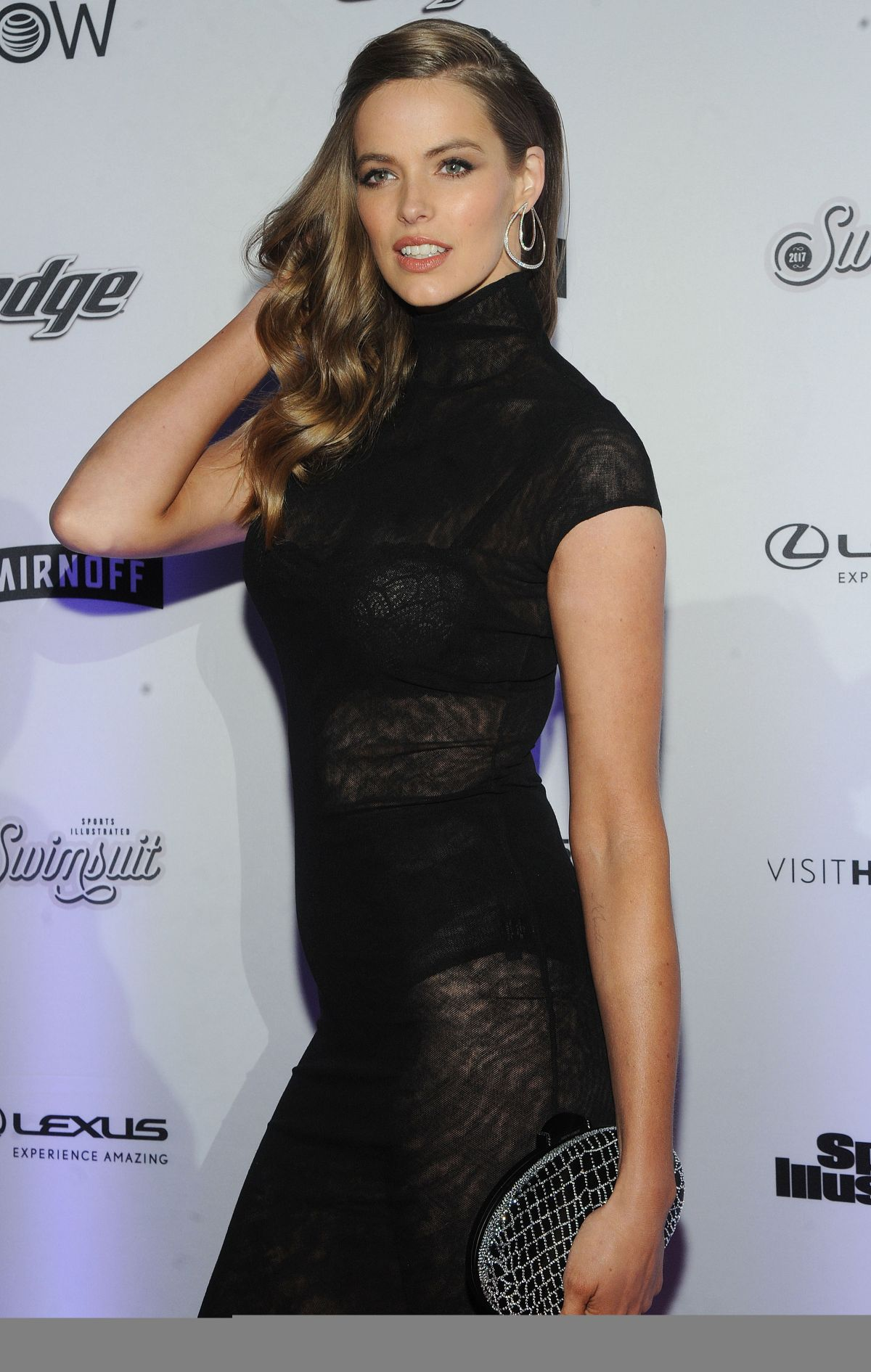 Robyn Lawley At Sports Illustrated Swimsuit Edition launch ...