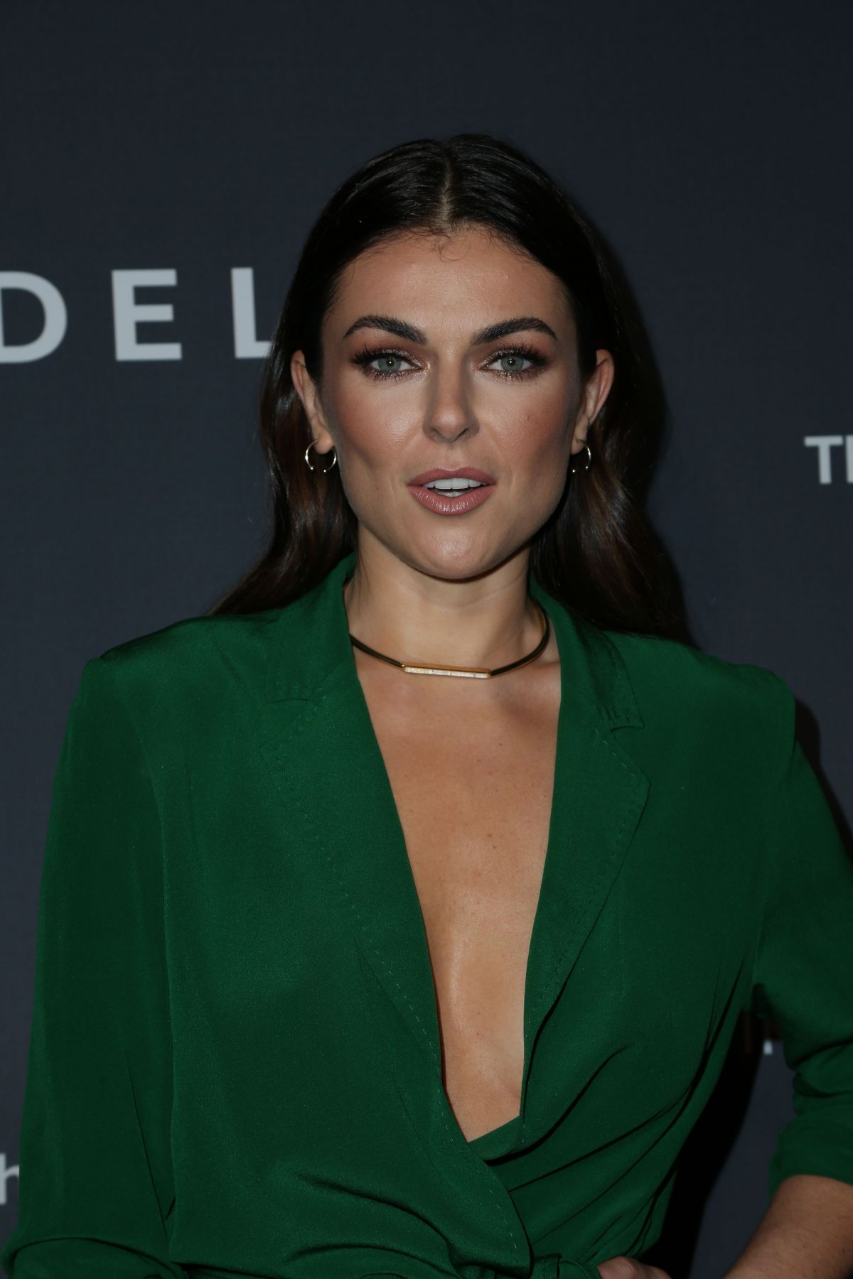 Serinda Swan At Delta Air Lines official Grammy event in ...