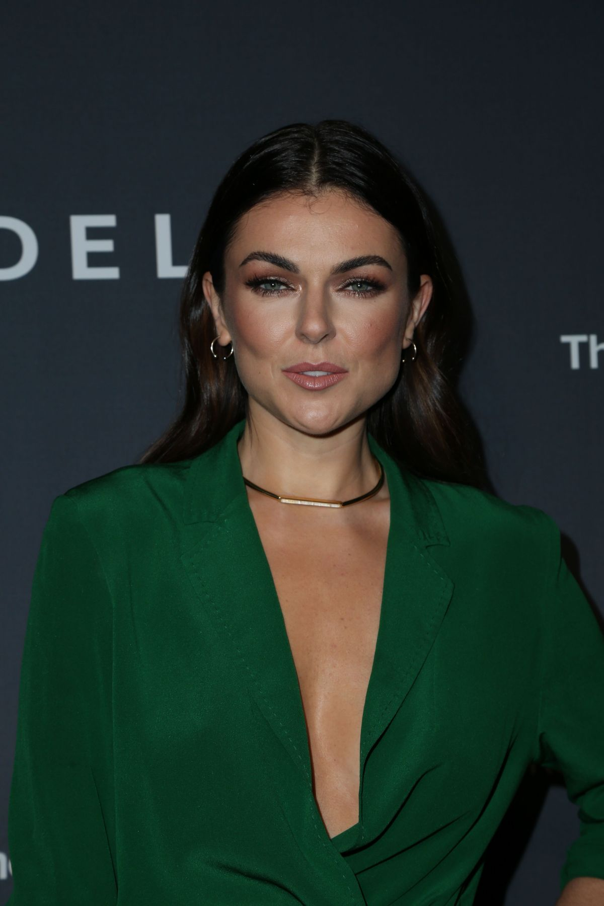 Serinda Swan At Delta Air Lines Official Grammy Event In