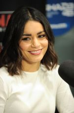 Vanessa Hudgens At sirisxm radio in NYC