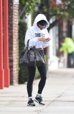 Vanessa Hudgens Heading to the gym in Los Angeles