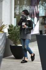 Vanessa Hudgens Shopping at Sephora in LA