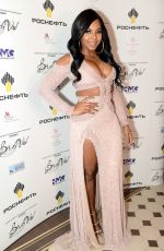 Ashanti At BraVo Awards Ceremony in Moscow, Russia