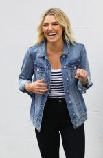Ashley Hart At Just Jeans Photoshoot in Sydney