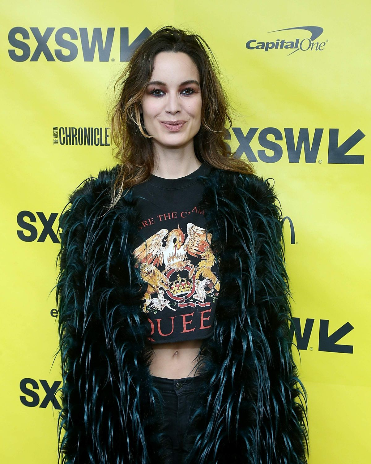 Berenice Marlohe At Song to Song Premiere, SXSW Film Festival in Austin, TX