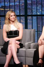 Camila Mendes & Lili Reinhart At late show with seth meyers in NY