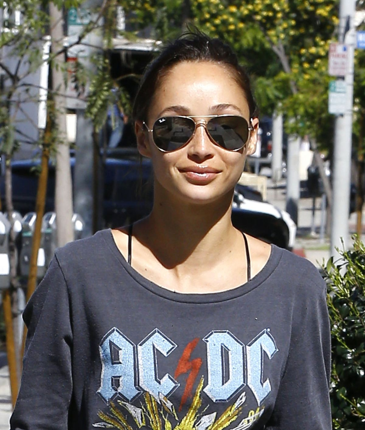 Cara Santana Out and About In LA