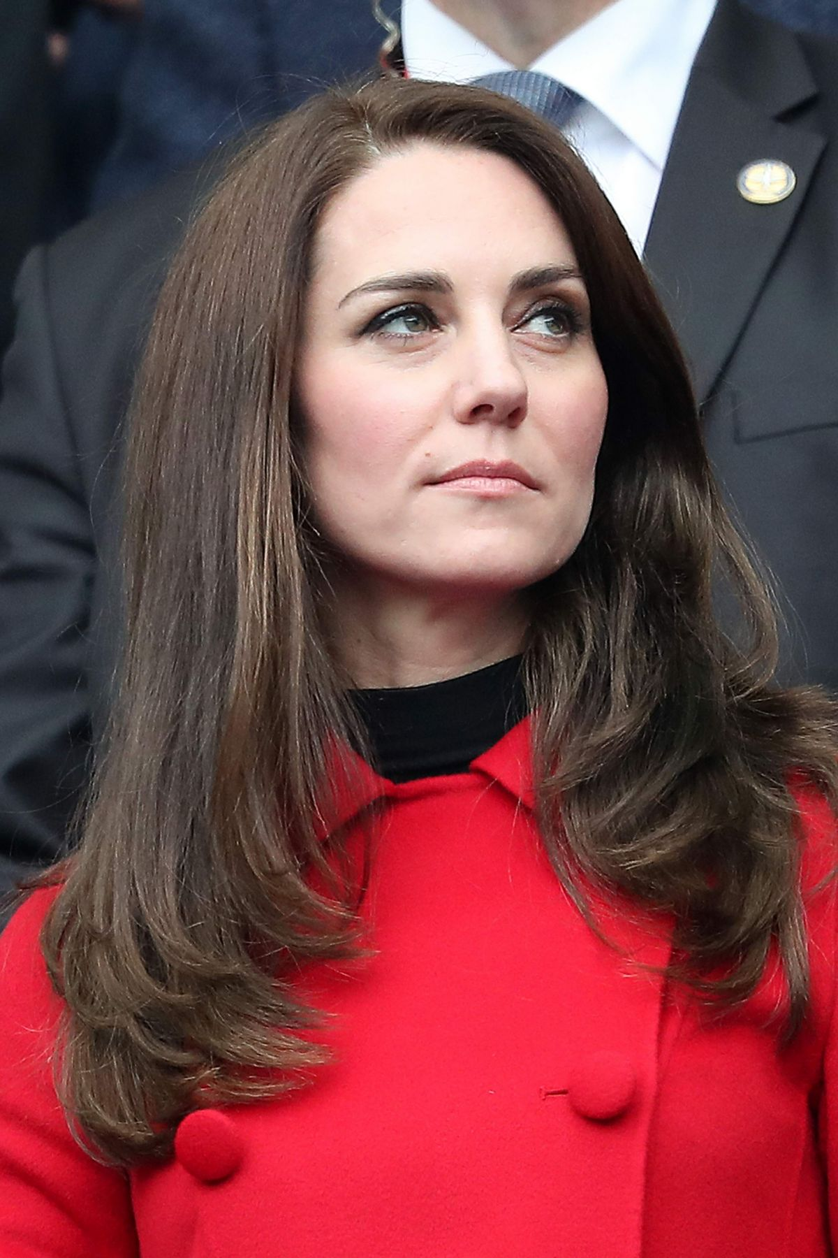 Catherine Duchess of Cambridge attend The Wales vs France ... Britney Spears