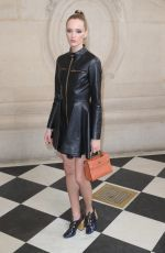 Daria Strokous At Christian Dior Haute Couture spring-summer 2017 fashion show - Paris