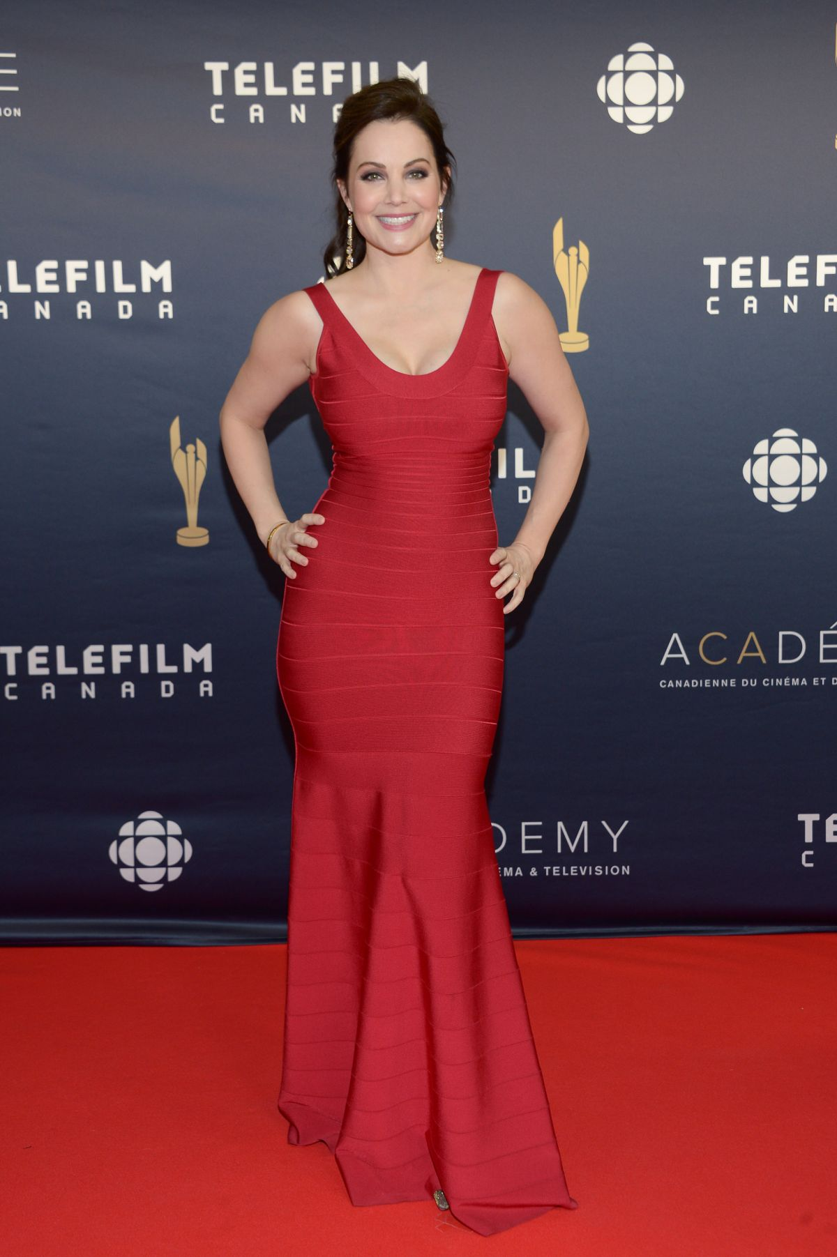 Erica Durance At 2017 Canadian Screen Awards in Toronto