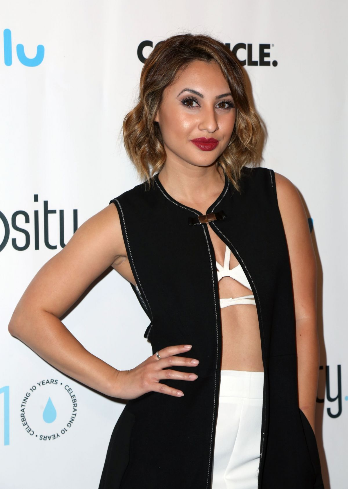 Francia Raisa At Fundraiser for World Water Day - Beverly Hills