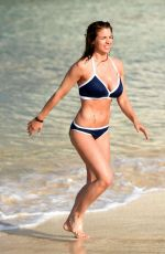 Gemma Atkinson In Blue Bikini in Kap Verde