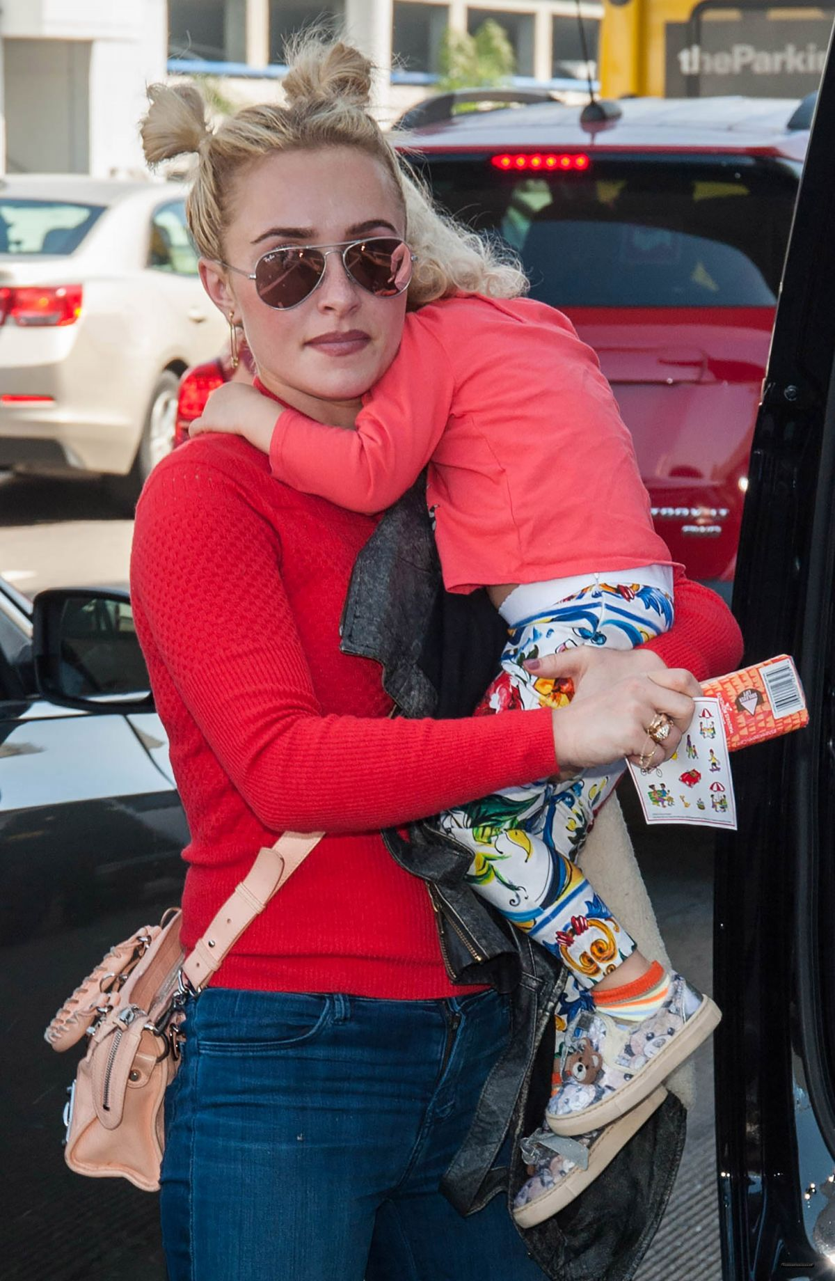 Hayden Panettiere With her daughter at LAX Airport ... Hayden Panettiere Daughter