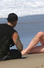 Ireland Baldwin On the set of a 138 Water photoshoot in Malibu