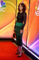 Jennifer Beals At nbc mid season press day in New York