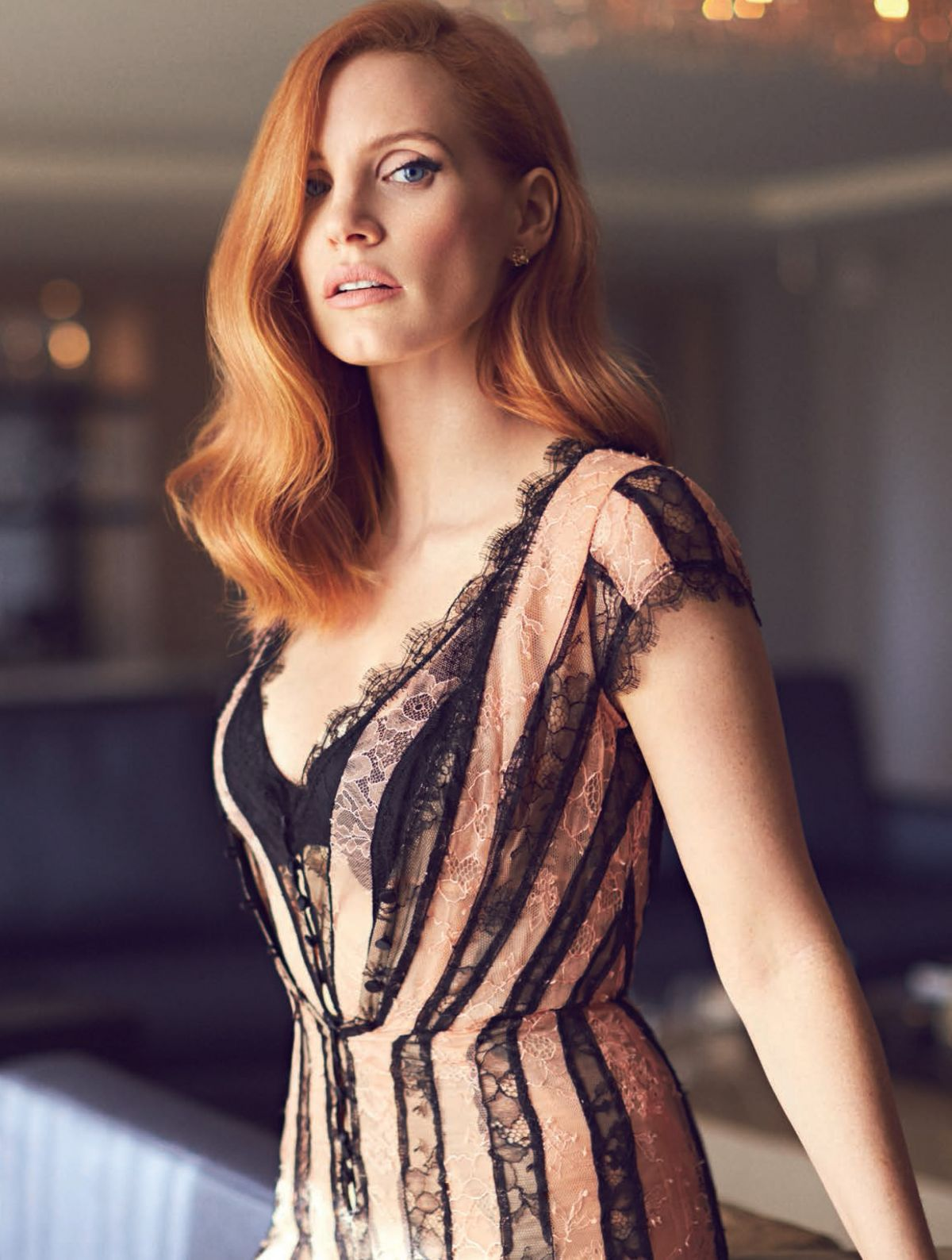 Jessica Chastain For American Way Magazine March 2017