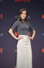 Jessica Stroup At Iron Fist Press Conference in Seoul