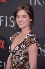 Jessica Stroup At Marvel