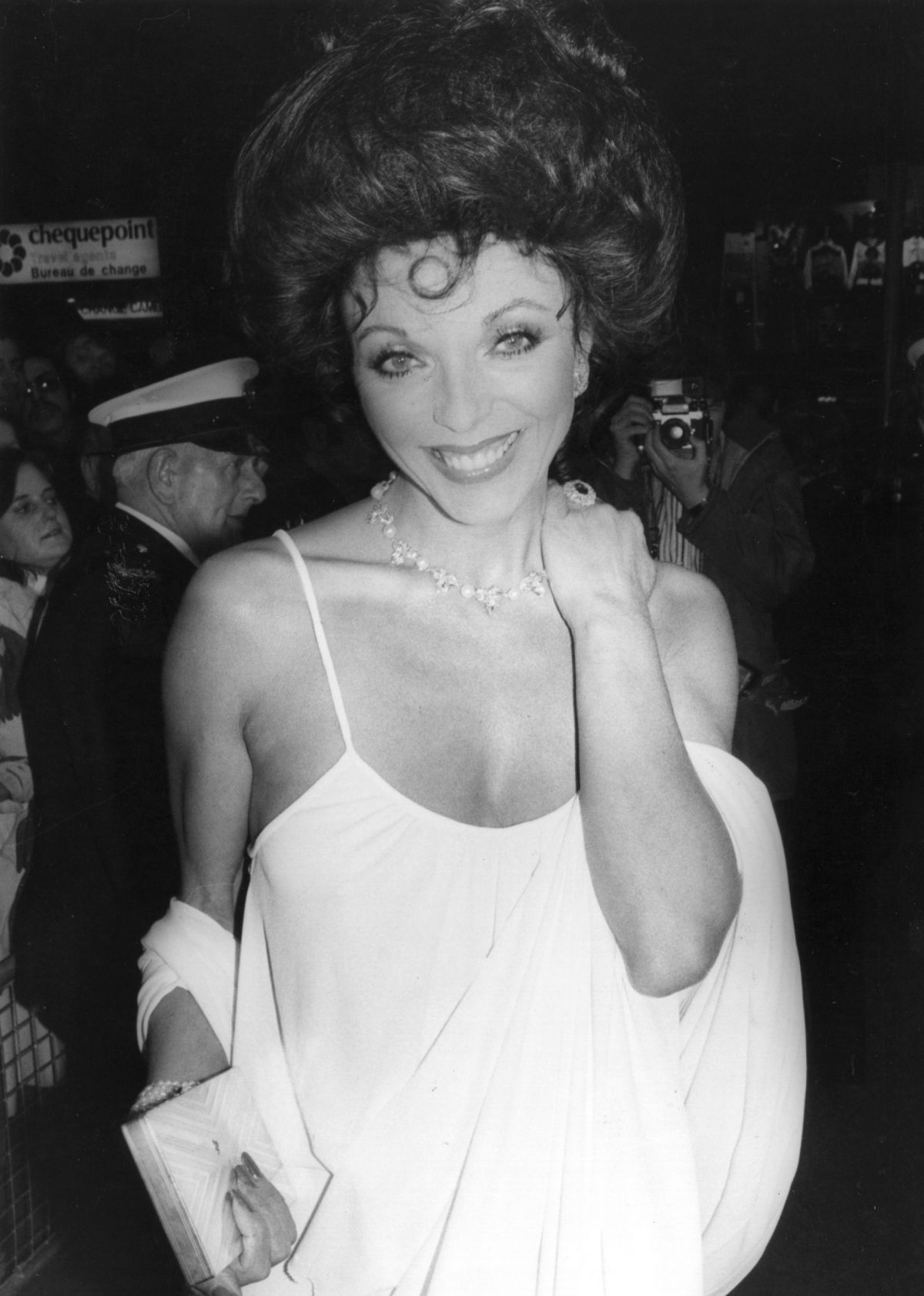 Joan Collins Looking Stunning At The Premiere Of The Stud 1978