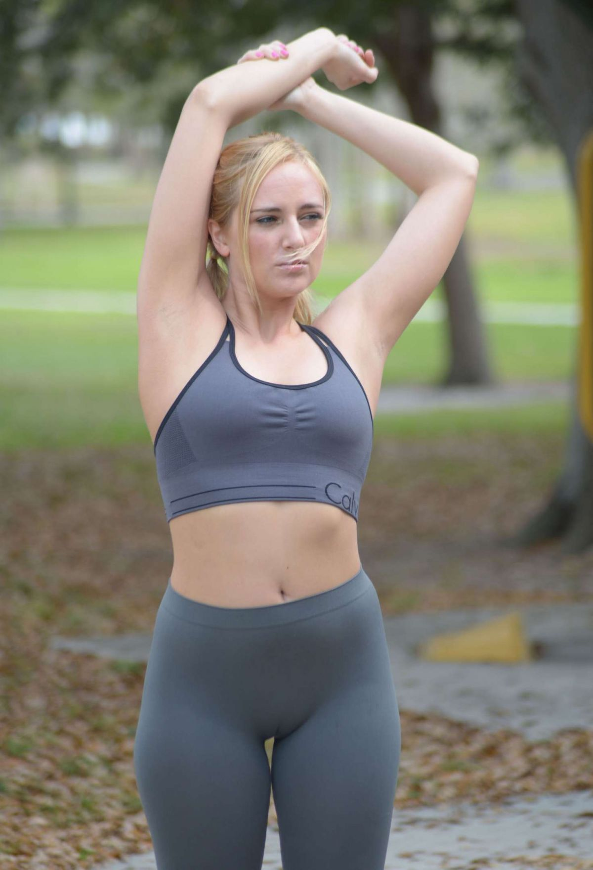 c9b9a81ddae85 Kate england workout at a park in miami celebzz jpg 1200x1759 Kate england  bra