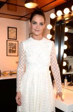 Katie Holmes Backstage at The Tonight Show in New York