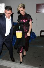 Katy Perry After dining at Craig