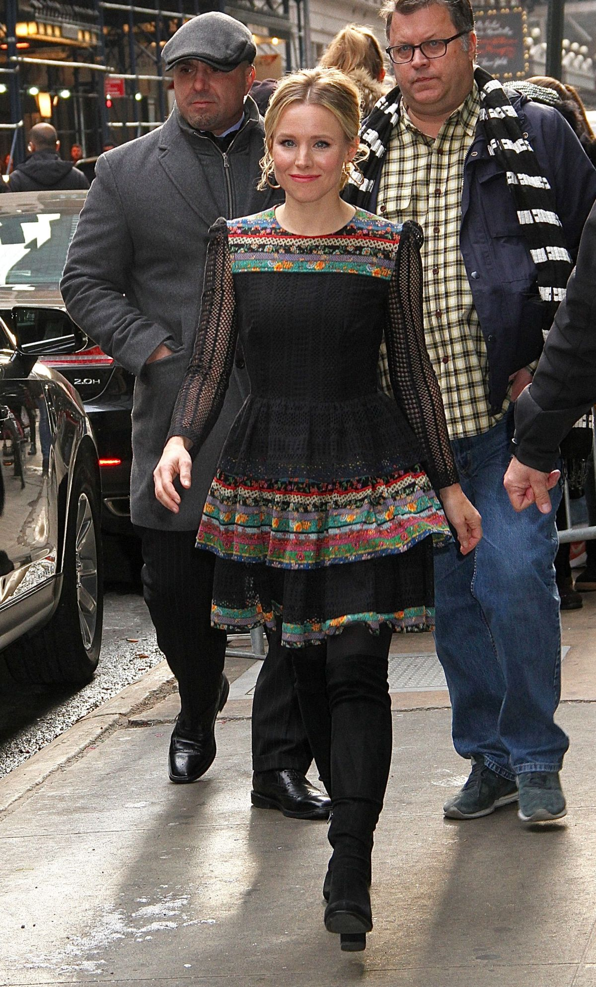 Good Morning America Los Angeles : Kristen bell leaving 'good morning america in nyc celebzz
