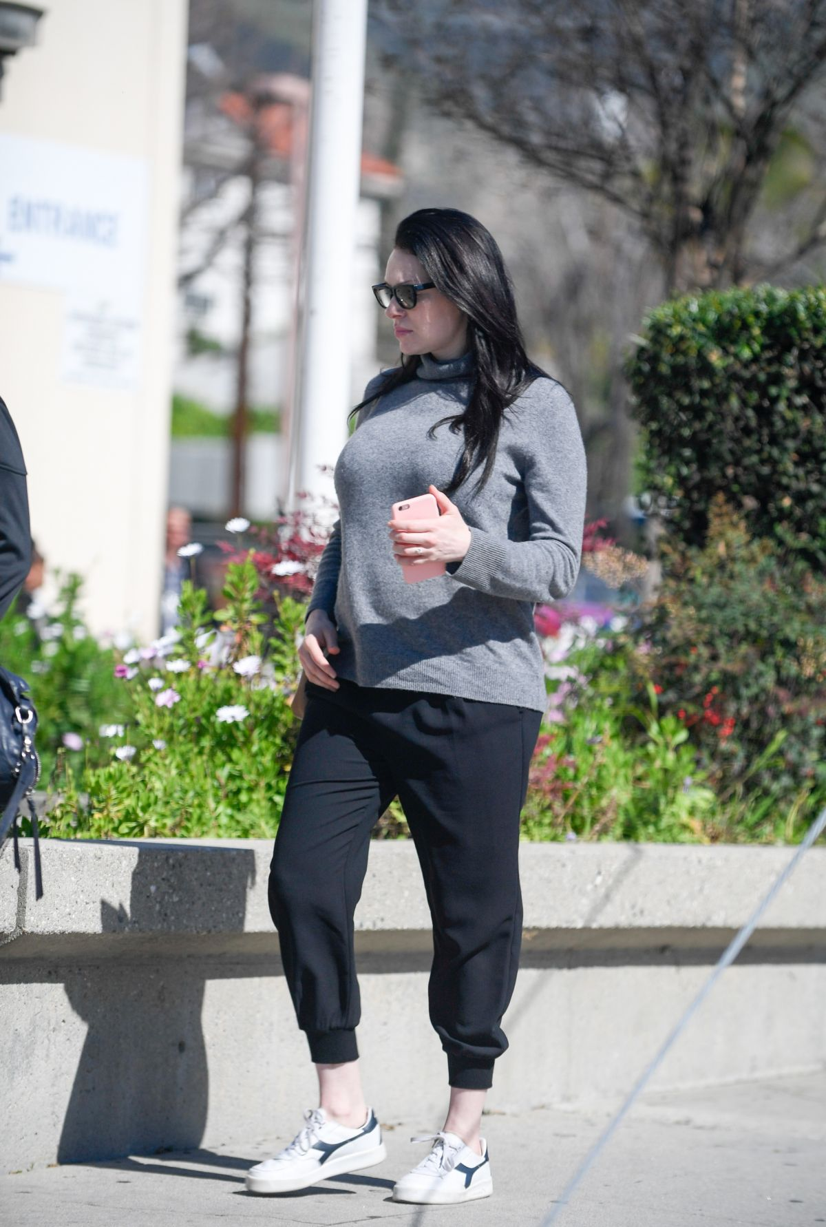 Laura Prepon Stopping by the DMV in Glendale