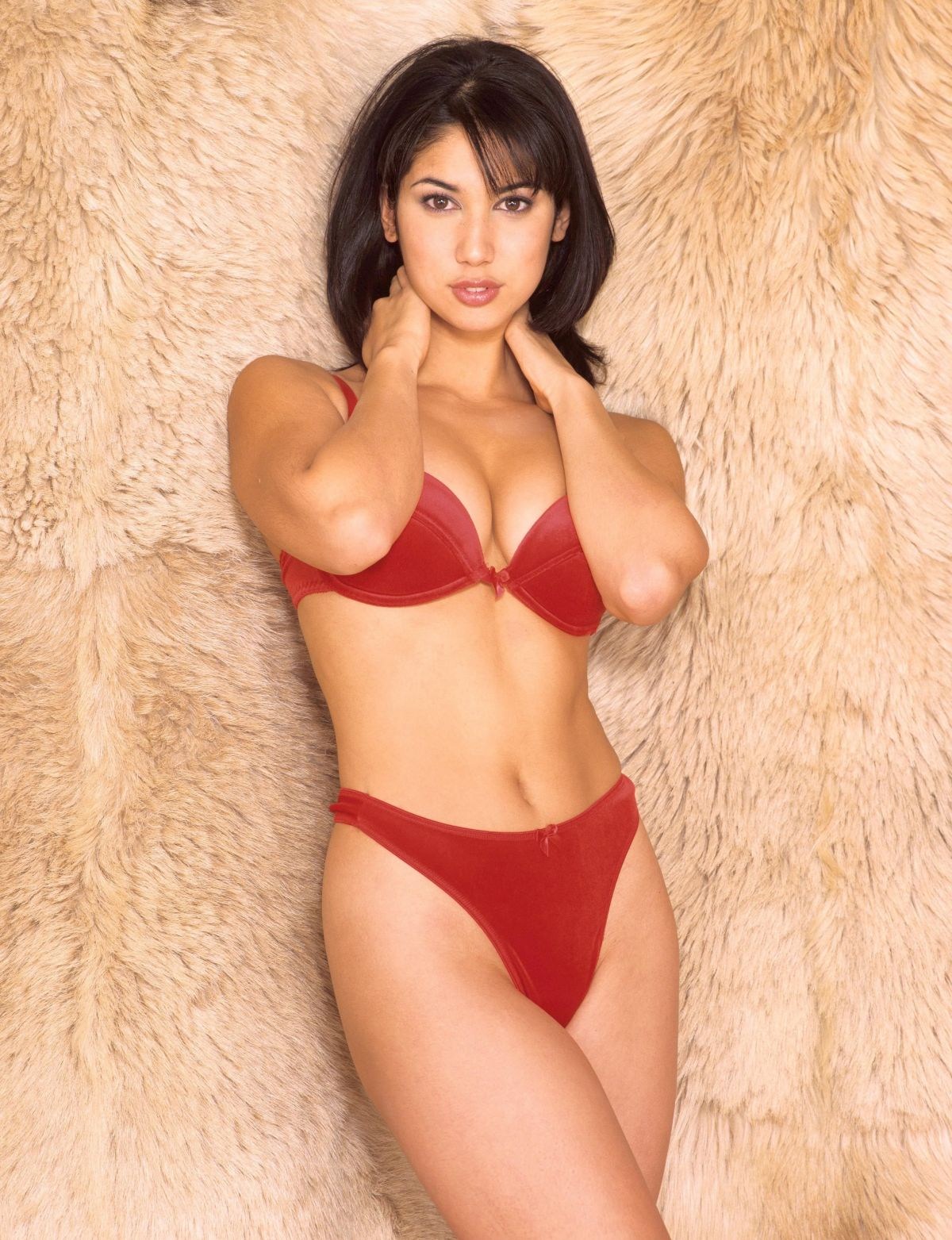Leilani Dowding At 1998 Lingerie Jeanny Savage PS