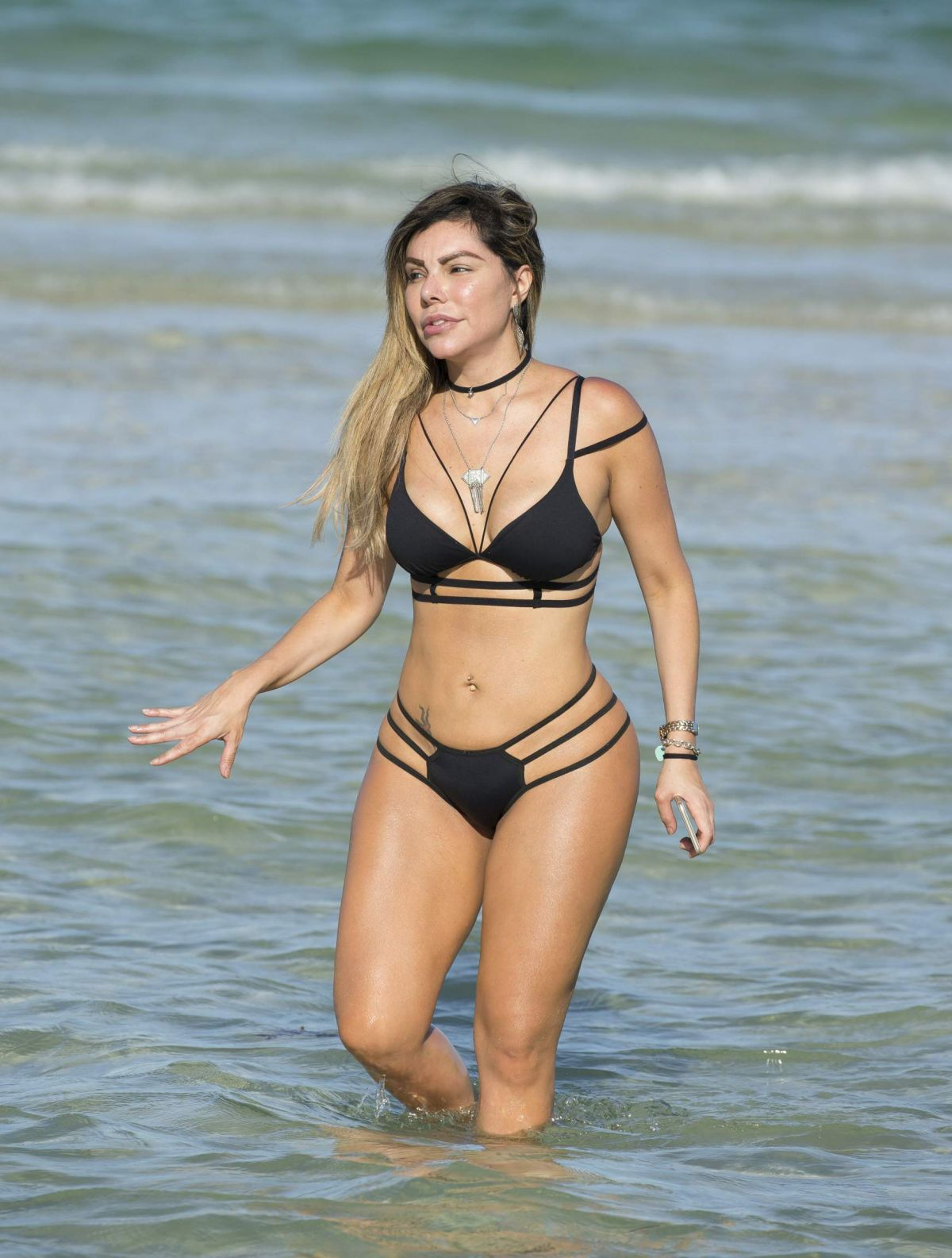 Liziane Gutierrez Vacationing in Miami