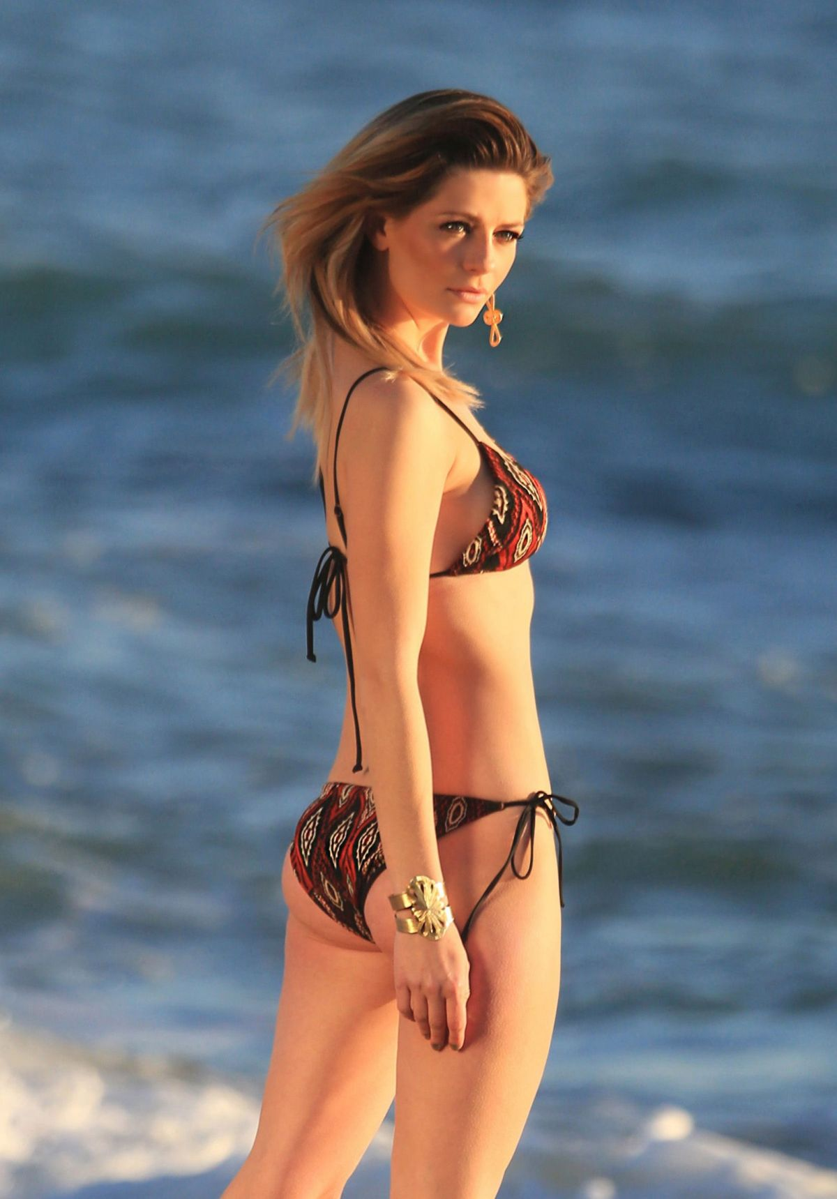 Mischa Barton On the set of a 138 Water photoshoot in ...