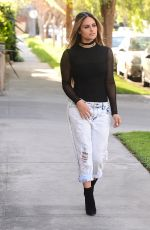 Pia Toscano Out In Beverly Hills