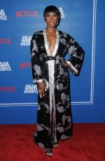 Ashley Blaine Featherson At Dear White People Series Premiere in Los Angeles