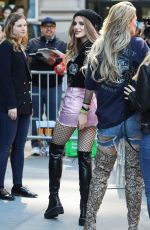 Bella Thorne Seen at the AOL Building in New York City